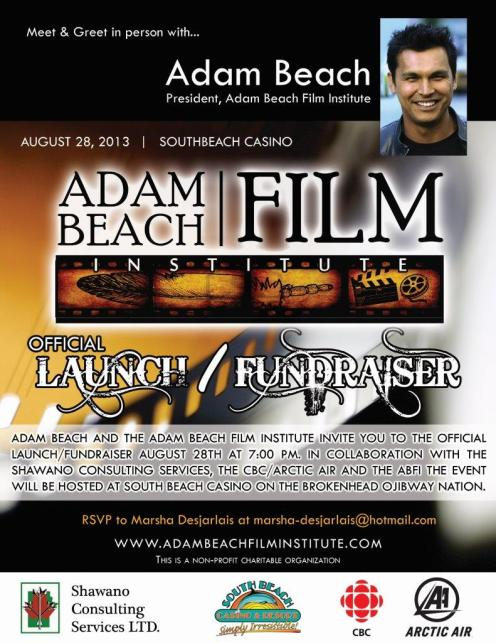 ABFI Launch Fundraiser Invitation